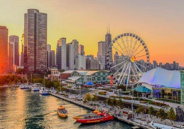 Atrações no Navy Pier em Chicago