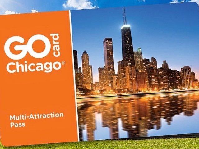 Cartão do Go Card Chicago