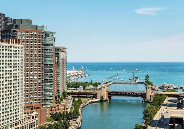 Hotéis no centro turístico de Chicago